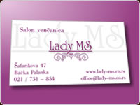 Lady Ms - Business card